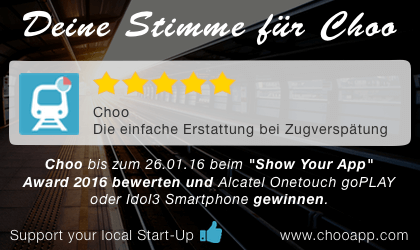 Choo Show Your App Award 2016